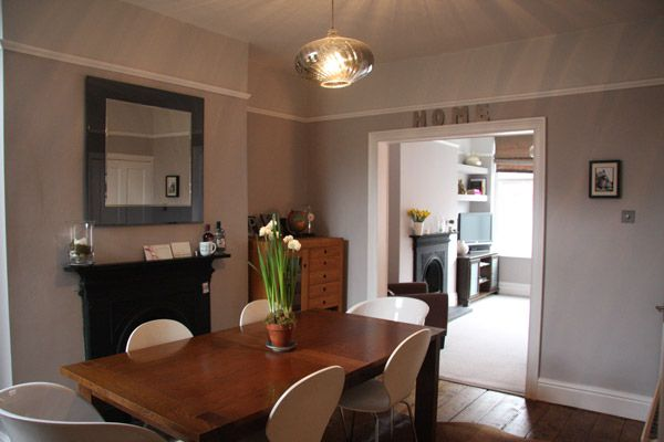 Grey Walls Main Colour Is Eglise Grey By Crown The Petite