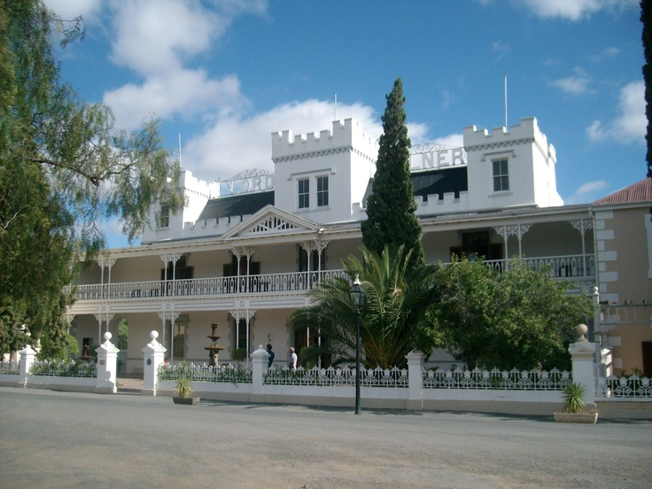 The historical Lord Milner Hotel - Matjiesfontein, South Africa