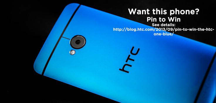 Want to win an HTC One Blue? See Details: http://blog.htc.com/2013/09/pin-to-win-the-htc-one-blue/