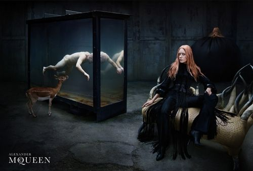 (4) Tumblr/ This is the new designer for the Alexander McQueen label, I feel obligated to clarify.