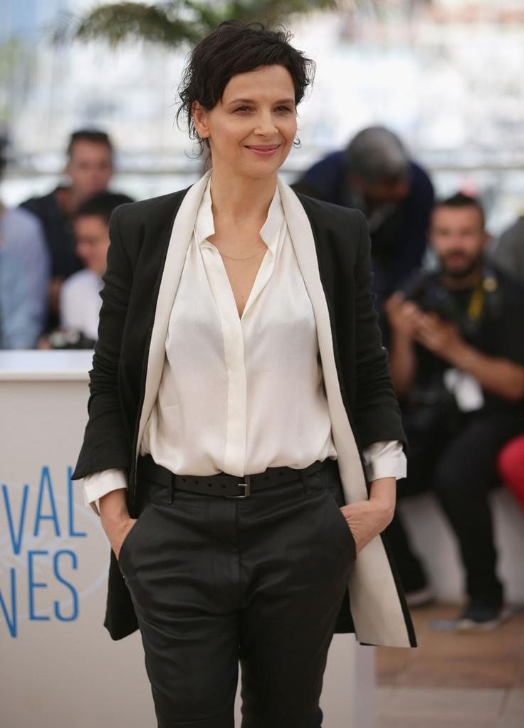Juliette Binoche attends Sils Maria Photocall The 67th Annual Cannes