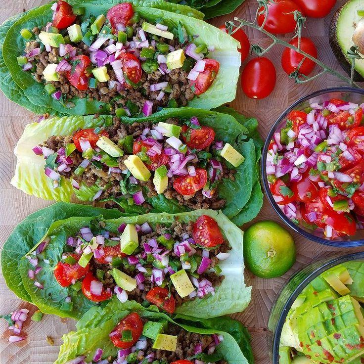 Best Homemade Taco Seasoning Mix Recipe and Taco Lettuce Wraps ~ http://cleanfoodcrush.com/homemade-taco-seasoning/