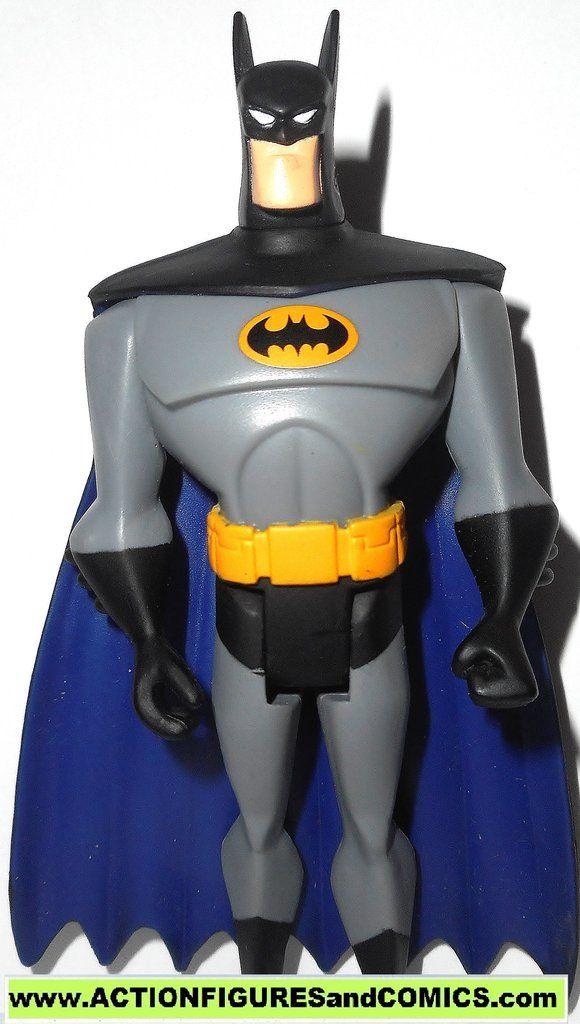 Justice League Unlimited Batman Yellow Emblem Gray Ghost 3 Pack Variant Justice League Justice League Unlimited League