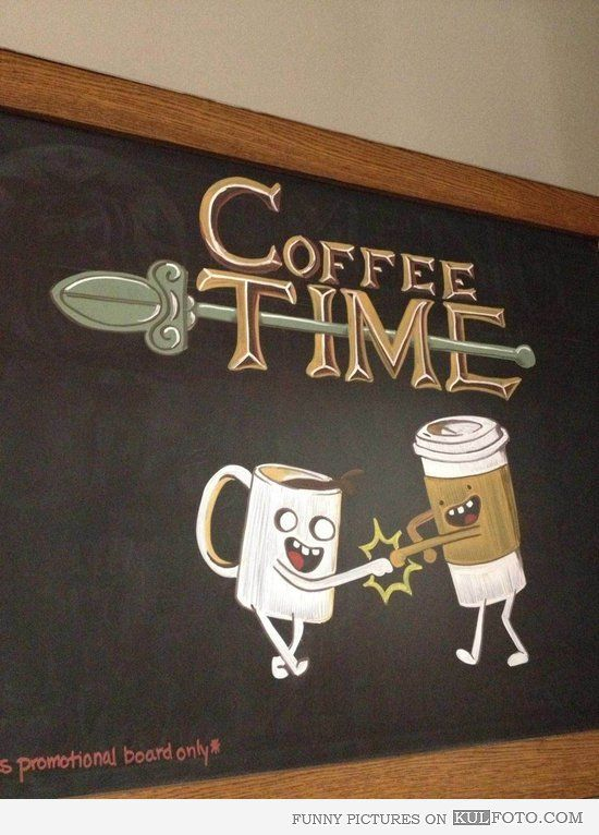 Funny Coffee Signs | Coffee Time - Funny coffee shop sign ...