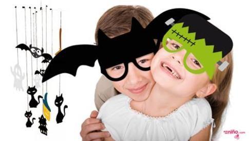 6 gafas de personajes de Halloween para imprimir - Halloween - Juegos y fiestas - Guia del Niño