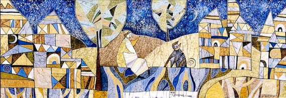 Starry Skies by IsmaArt on Etsy, $1000.00