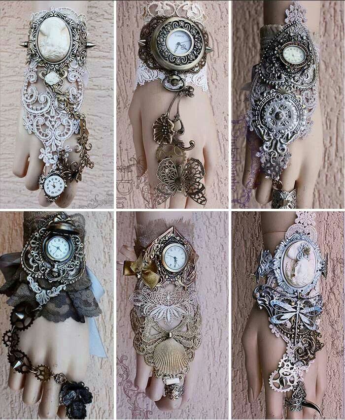 Steampunk sleeves