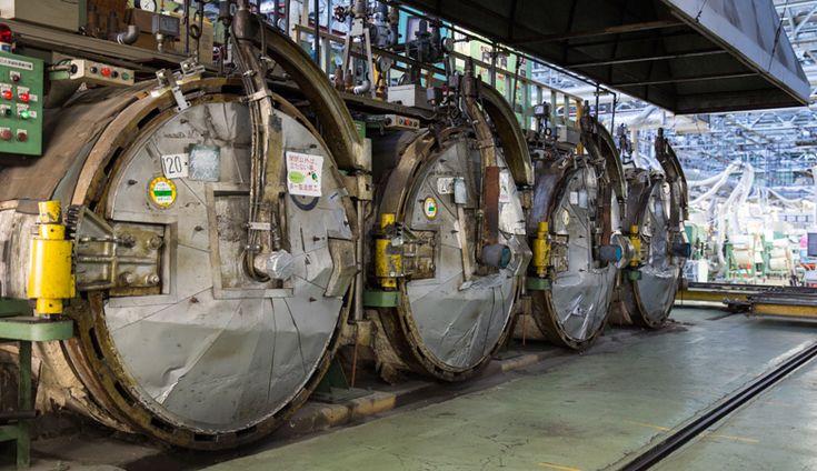 ムーンスターの工場写真