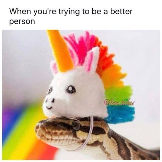 """This reminds me of the time my friend's boyfriend called me a """"rattlesnake on steroids"""" cause I was so mean to him. I just laughed at him cause that's an understatement. XD"""