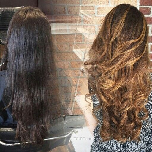 Ombre Hair Color Idea for Brunette Hair