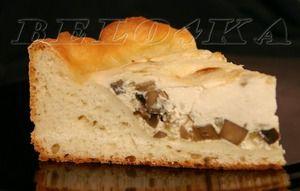 """Пирог сырно-грибной """"Нежный"""""""