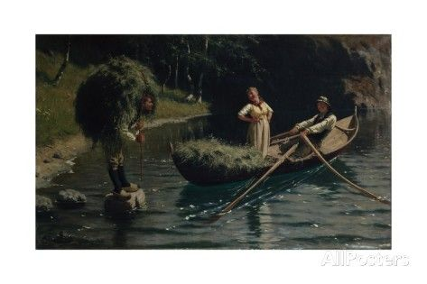 Too Late, 1878 Giclee Print by Hans Andreas Dahl at AllPosters.com
