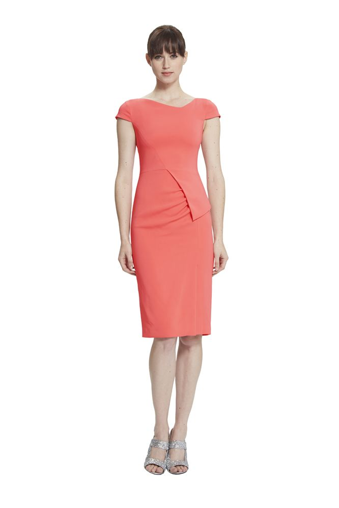 TRISTA CONTOURED DRESS from RAOUL