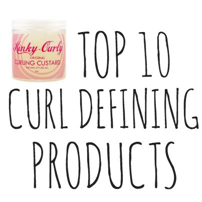 We have 8,000+ curly hair products in our product review database on NaturallyCurly.com. What are the TOP 10 curl defining products? Here's what we came up with >>