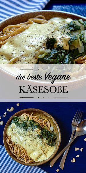 Die beste vegane Käsesoße (ohne Hefe
