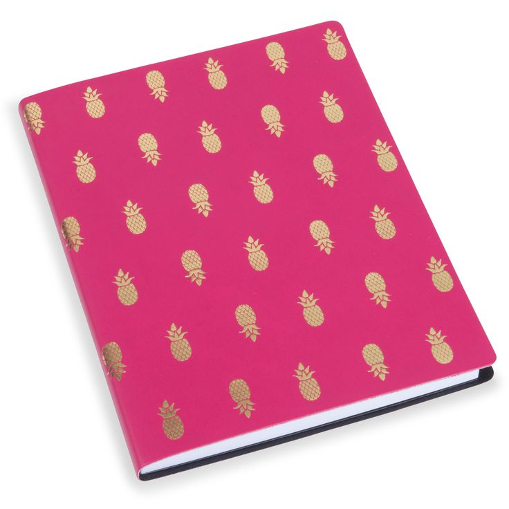 carnet de notes ananas pink maisons du monde pineapple. Black Bedroom Furniture Sets. Home Design Ideas