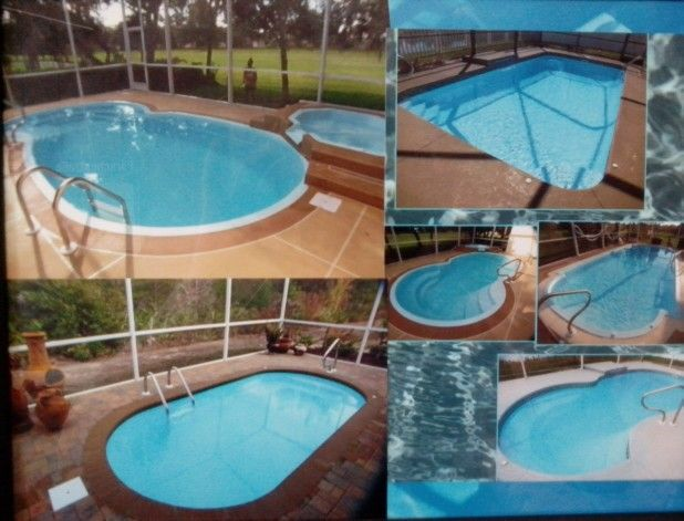 234 Best Images About Fiberglass Swimming Pools On Pinterest Rock Waterfall Gunite Pool And