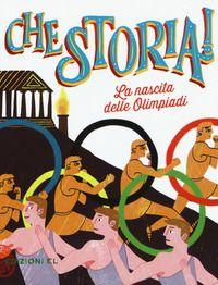 """""""La nascita delle Olimpiadi"""", Luca Blengino (2017)."""
