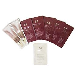 Missha - BB Cream & Boomer Samples. Not sure what shade you are? Try them all to find out! #Missha