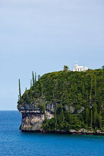 Chapelle Notre Dame de Lourdes, #Lifuo Island, Loyalty Islands, New #Caledonia by john white photos
