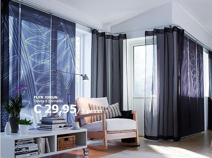 17 migliori idee su tende soggiorno su pinterest scuri - Tende soggiorno ikea ...