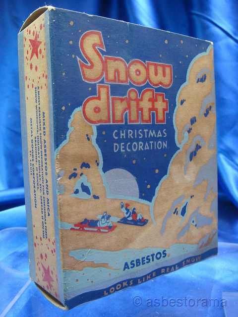 13 best types of asbestos images on pinterest fiber gemstones and vintage box asbestos snow drift urtaz Image collections