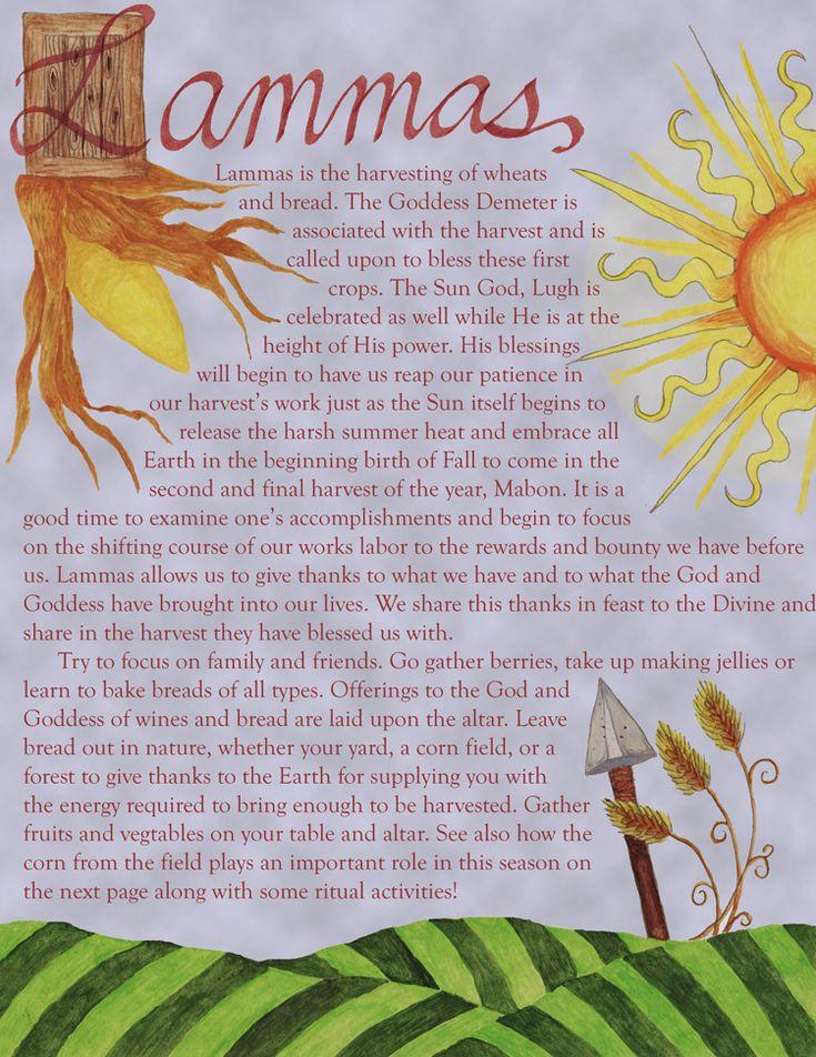 Lammas- the first harvest by jezebelwitch.deviantart.com on @deviantART