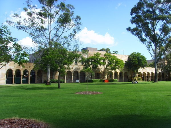 University of Queensland - my old stomping ground. #ridecolorfully