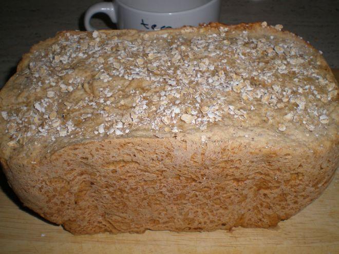 Receta Entrante : Pan de avena en panificadora por Etyam