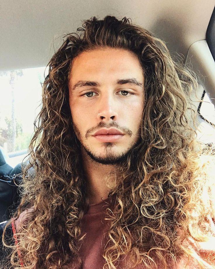 Best 25+ Long Curly Hair Men Ideas On Pinterest
