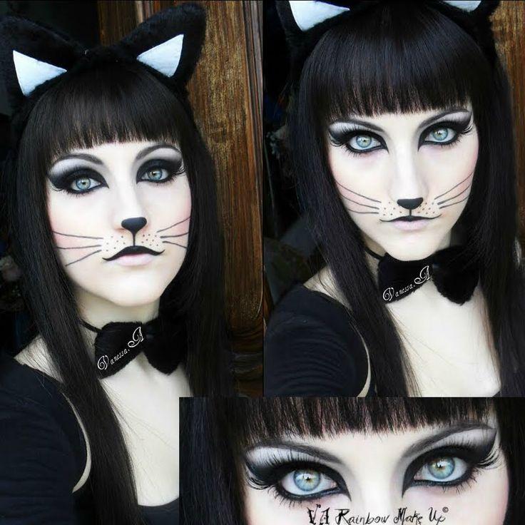 26 best MAKEUP: Cat images on Pinterest | Costumes, Halloween ...