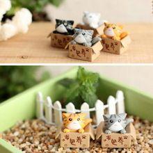 Buscando Mini Bonecas Gatinho, Jardim de Conto de fadas, Mini Casa de Boneca, Bonsai Decoração(China (Mainland))
