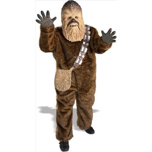 Rubies Costume Star Wars Deluxe Chewbacca Costume Medium by Rubies @ niftywarehouse.com #NiftyWarehouse #Geek #Products #StarWars #Movies #Film