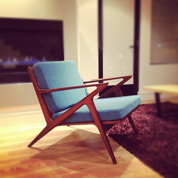 Selig 'Z' Chair by Poul Jensen. Just snagged two of these for my private office.