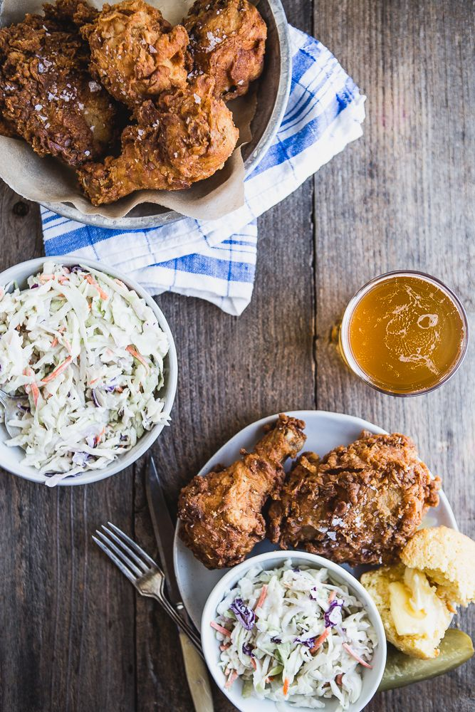 Fried chicken. The dish you know you love and have been dying to master. | Family Dinner | Family Recipe | Old Fashion | Summer