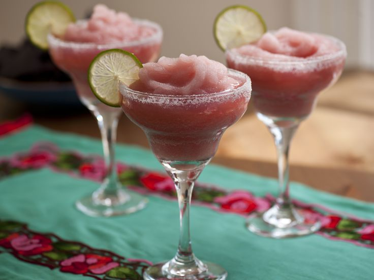Pomegranate Margaritas from FoodNetwork.com