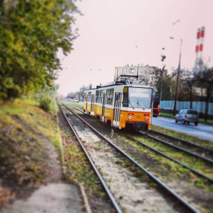 #Tram No.37 at Bajcsy-Zsilinszky Hospital of Kőbánya in #Budapest #Hungary