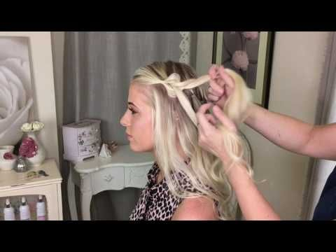 The Suspended Pull Through Braid by SweetHearts Hair Design - YouTube