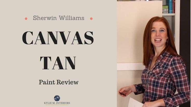 Colour Review Sherwin Williams Canvas Tan Kylie M