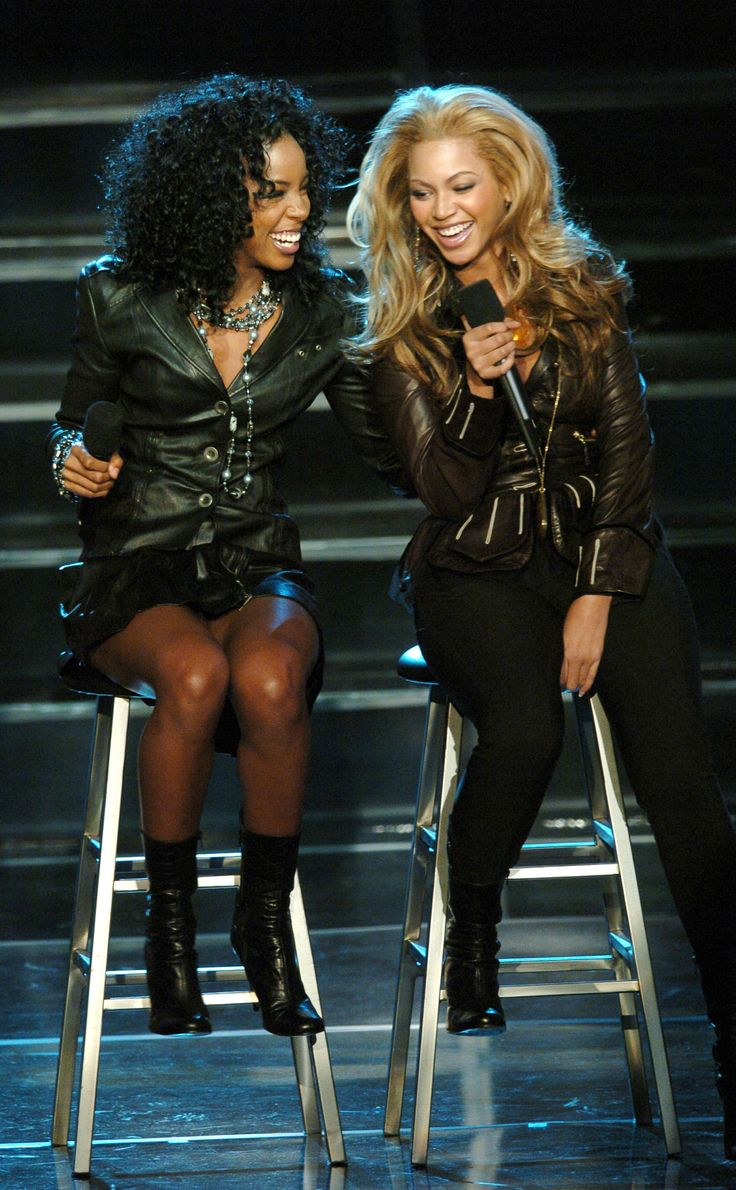 Kelly and Beyoncé rocked the house performing on Good Morning America in 2004 with Michelle (not pictured).