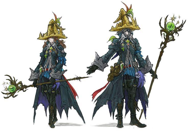 Black Mage from Final Fantasy XIV: Stormblood