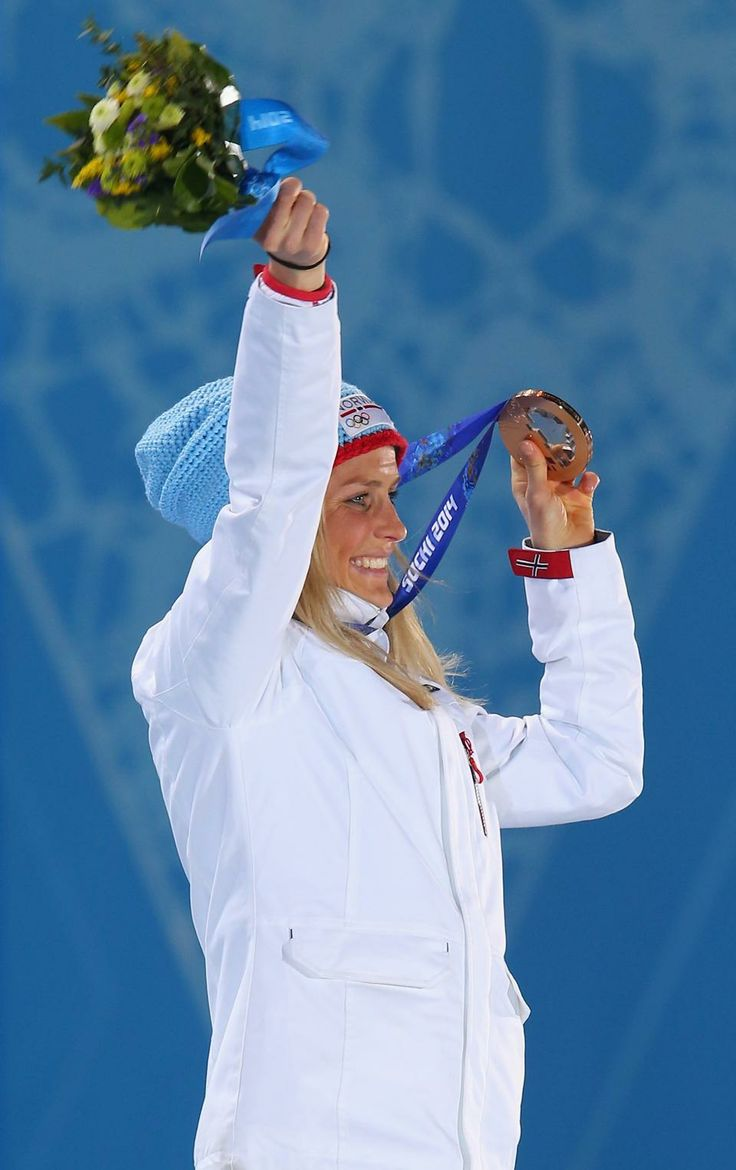 CROSS COUNTRY LADIES' 10km CLASSIC: Bronze medalist Therese Johaug of Norway