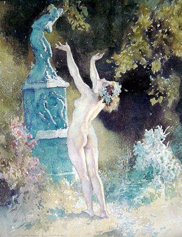 Garden God  by Australian artist Norman Lindsay