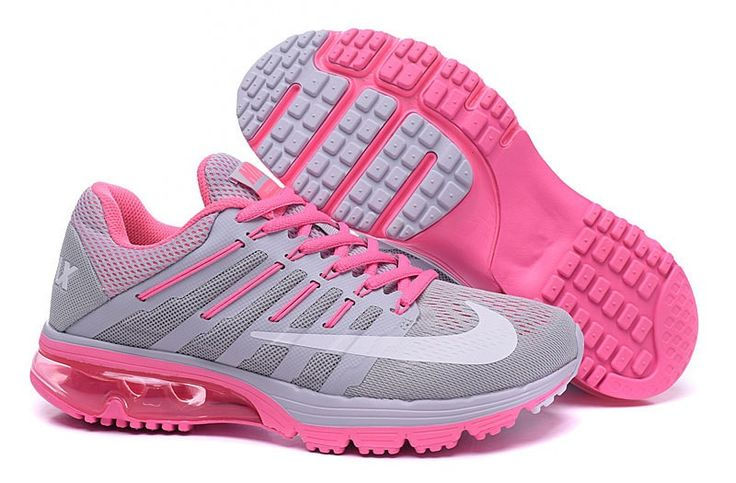 Nike AIR MAX EXCELLE RAPPE+4 Womens shoes 806798-101 Running trainers Grey Pink
