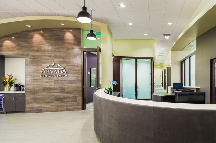 Arvada Dental Center - Dental Office Design by JoeArchitect- Like tall ceilings above the counter