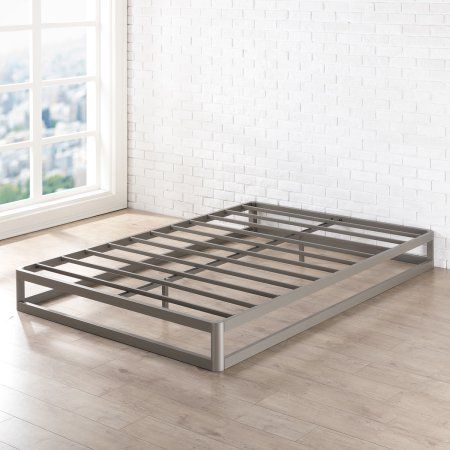 Best Price Mattress 9 Inch Metal Platform Bed Frame Round Type Walmart Com In 2020 Metal Platform Bed Platform Bed Frame Steel Bed Frame