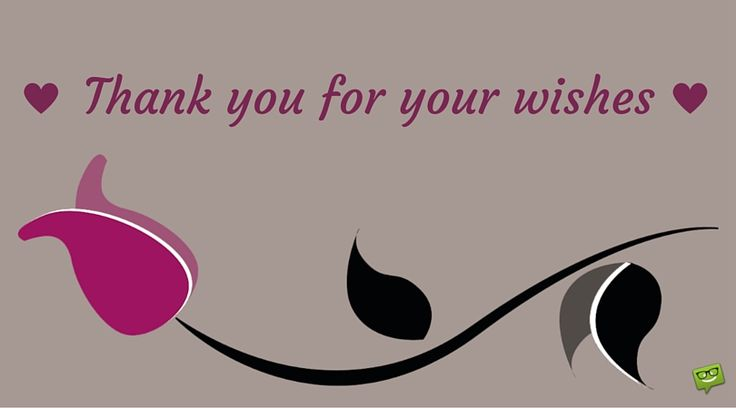 Thank you for your wishes image