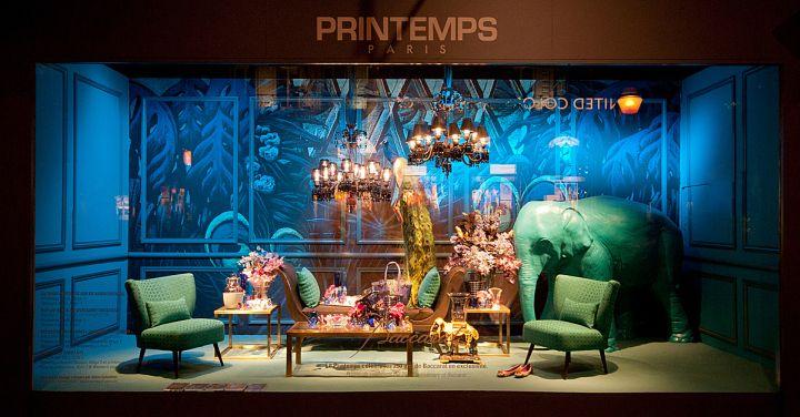 Printemps windows 2014 Summer, Paris   France window display