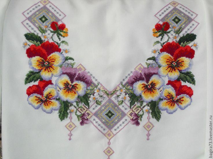 Блузки ручной работы. Ярмарка Мастеров - ручная работа Виола. Handmade.