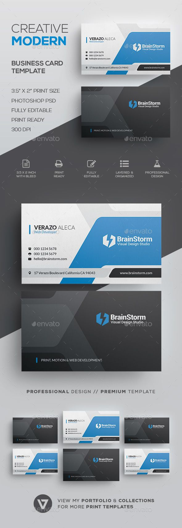 Creative Corporate Business Card Template - Corporate Business Cards Download here: https://graphicriver.net/item/creative-corporate-business-card-template/19853197?https://graphicriver.net/item/business-card/19853565?ref=classicdesignp